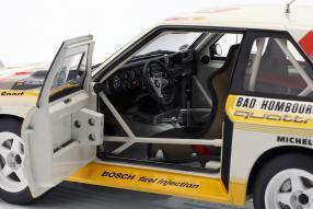 diecast miniatures Audi Sport quattro S1 1986 1:18 Autoart
