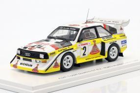 automodelli Audi Sport quattro S1 1986 1:43 Spark