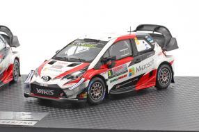 miniatures Toyota Yaris WRC Set 1:43 Spark