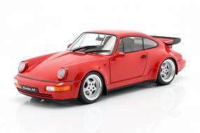 modellautos Porsche 911 964 Turbo 1990 1:18 Solido