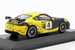 diecast miniatures Porsche 718 Cayman GT4 Clubsport 2019
