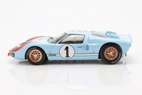 miniatures miniatures Ford GT40 Mk. II 2nd 24h Le Mans 1966 1:18 Spark