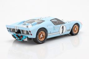 modellautos Ford GT40 Mk. II 2nd 24h Le Mans 1966 1:18 Spark