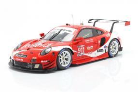 Porsche 911 RSR IMSA Coca Cola No. 911 1:18