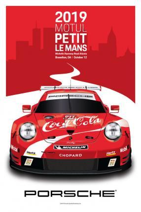 Porsche 911 RSR IMSA Coca Cola No. 911, copyright Foto: Porsche AG