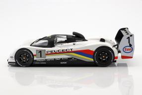 diecast miniatures Peugeot 905 Evo I 1992 1:18 Norev