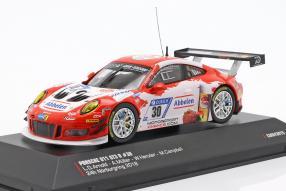 Frikadelli Porsche 911 GT3 R 24 Stunden Nürburgring 2018 1:43 CMR