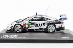 diecast miniatures Porsche 911 GT3 R 2018 KÜS Team75 Bernhard 1:43 CMR