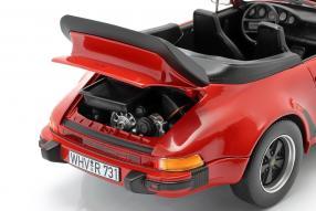 diecast miniatures Porsche 911 930 Turbo Cabriolet 1:18 Norev
