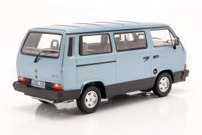 diecast miniatures Volkswagen VW T3 Multivan 1990 1:18
