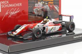 miniatures Mick Schumacher Dallara F317 Macau GP 2018 1:43 Minichamps