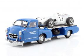diecast #miniatures Set Mercedes Das blaue Wunder 1:18 iScale