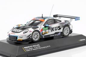 Klaus Bachler Porsche 911GT3 R 1:43