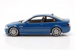 miniatures BMW M3 E46 2000 1:18