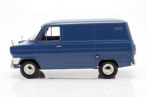 diecast miniatures Ford Transit 1965 1:18