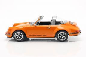 diecast miniatures Singer Porsche 911 Targa  1:18