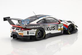 diecast miniatures Porsche 911 GT3 R 2018 KÜS Team75 Bernhard 1:18 Minichamps
