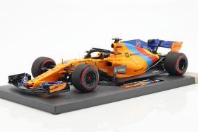 McLaren MCL 33 Alonso  1:18 Minichamps