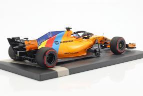 modellautos McLaren MCL 33 2018 Alonso 1:18 Minichamps