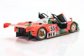 diecast miniatures Mazda 787B Le Mans 1991 1:18 CMR