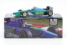 Schumacher Benetton B194 1994 1:18 Minichamps winner UngarianGP