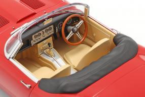diecast miniatures Jaguar E-Type Roadster 1961 1:18 KK-Scale