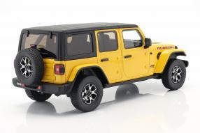 modelcars Jeep Wrangler Rubicon 2019 1:18
