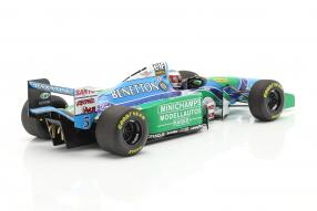 diecast miniatures modellautos Schumacher Benetton B194 1994 1:18 Minichamps