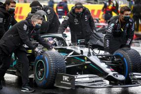 Lewis Hamilton Mercedes-AMG F1, 7th championship, 2020 / copyright Foto: Daimler AG