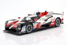 Toyota TS050 hybrid No. 7 Le Mans 2019 1:18