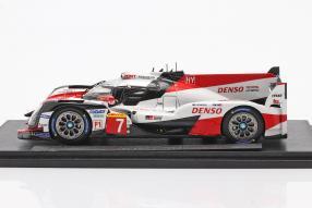 Modellautos Toyota TS050 hybrid No. 7 Le Mans 2019 1:18