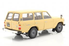 diecast miniatures Toyota Land Cruiser J6 1980 1:18 Kyosho