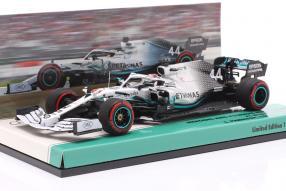 Lewis Hamilton Mercedes-AMG F1 W10 1:43 Minichamps