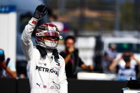 Lewis Hamilton Mercedes-AMG F1 W10 Hockenheim 2019, copyright Foto: Daimler AG