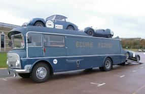 Commer TS3 Renntransporter Ecurie Ecosse, copyright Foto: Andy Buckley