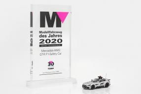 Sieger Modell Fahrzeug 2018: diecast miniatures Mercedes-AMG GT Safety Car Formel 1 2018 1:43