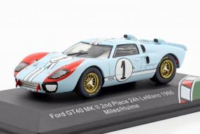 Ford GT40 Mk. II No. 1 2nd Le Mans 1966 1:43