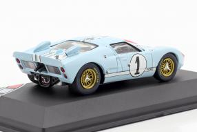 diecast miniatures  Ford GT40 Mk. II No. 1, 2nd Le Mans 1966 1:43