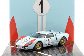 modelcars Ford GT40 Mk. II No. 1, 2nd Le Mans 1966 1:43