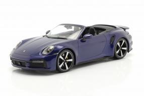 Porsche 911 Turbo S Cabriolet 2020 1:18 Minichamps