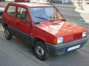 Fiat Panda 1980, copyrigt Foto: GPL