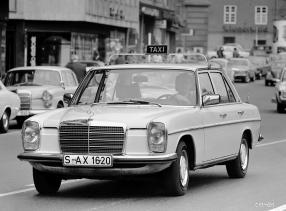 Mercedes-Benz 200 /8 1973 Taxi, copyright: Daimler AG