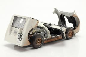 Ford GT40 Mk. II No. 98 dirty version 1st 24h Daytona 1966 1:18 Shelby Collectibles