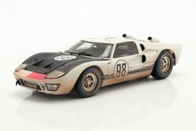 modellautos Ford GT40 Mk. II No. 98 dirty version 1st 24h Daytona 1966 1:18 Shelby Collectibles