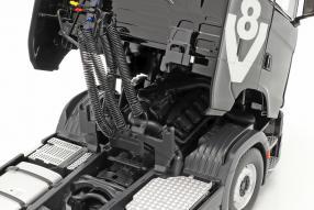 diecast miniatures Scania V8 730 S mit Auflieger Lohr 1:18 NZG