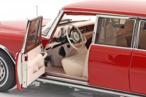 diecast miniatures Mercedes-Benz 600 W100 Pullman 1972 1:18 CMC