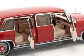 modelcars Mercedes-Benz 600 W100 Pullman 1972 1:18 CMC