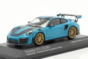 Porsche 911 GT2 RS Weissach Package 2018 1:43 Sondermodell