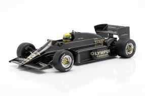 Lotus 97T 1985 1:18 Senna