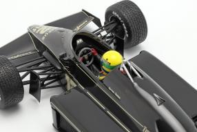 diecast miniatures Lotus 97T 1985 1:18 Senna